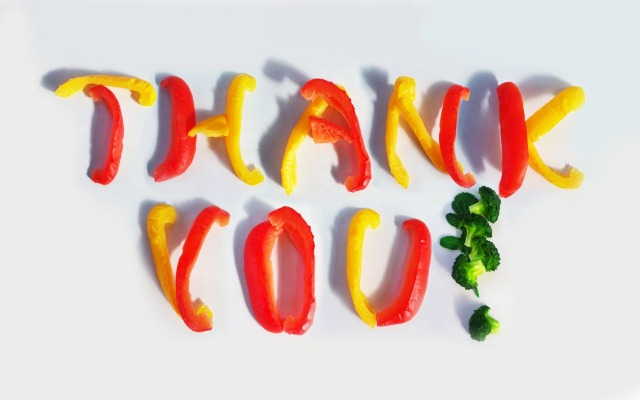 Veg-Thank-you